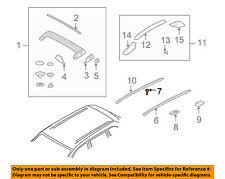 PORSCHE OEM Cayenne Roof Rack Rail Luggage Carrier-Channel Screw 95555913900