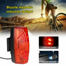 Self Generating Bicycle Taillight Magnetic Induction Mountain Bike Warning Light