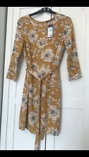 PRIMARK FLORAL DRESS SIZE 10 BRAND NEW WITH TAGS