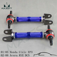 2pcs Rear Camber Control Arm Kit 01-05 Honda Civic EM EP3/02-06 Acura RSX DC5 BL