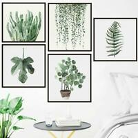 Botanical Prints Leaf Photo Pictures Wall Art Fern Palm Leaves Home Decor
