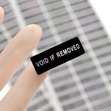 120 PC Hologram Void Laser Seal Label Tamper Evident Stickers Security