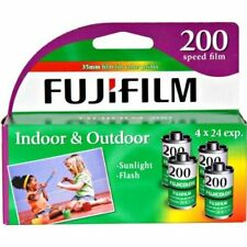 FujiFilm ISO 200 35mm Color Print Film 24 Exposures (8 Pack)