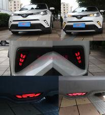 5x Daytime Running Fog Lights + taillight + brake light FOR Toyota CHR CH-R 2018