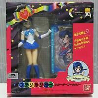 Used Sailor Moon Star Maker Petit Soldier Mercury Figure BANDAI vintage retro