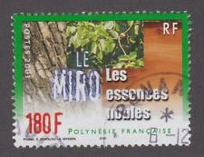 French Polynesia 2001 #809 Hardwood Trees (Miro) - Used