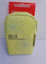 Golla Bolsas generación móvil cámara MP3 Teléfono Funda Cal luz Floral