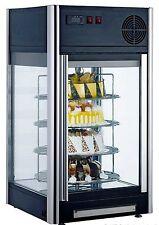 KBS SC 100,Aufsatzkühlvitrine schwarz,Kuchenvitrine,Tortenvitrine,Drehgestell