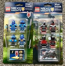 Lego 853515 & 853516 Nexo Knights Monsters Army & Knights Army NEW and SEALED