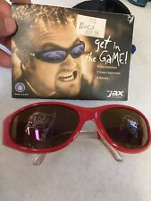 BRAND NEW TAMPA BAY BUCCANEERS JAX LOGO SUNGLASSES LIGHT DAMAGE FREE SHIPPING