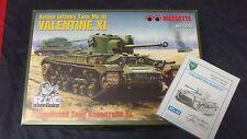 Valentine XI+ Metallketten von FriulModel MK, 1:35, Maquette NEU!