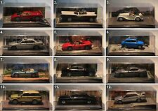 De Agostini-James Bond Collection-Scale 1:43-Modell-Diorama-Sammlung-PC-Vitrine