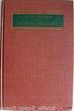 GIOVANNI GENTILE IL TRAMONTO DELLA CULTURA SICILIANA OPERE COMPLETE SANSONI 1963