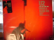 U2  UNDER BLOOD RED SKY COLLECTORS 180 GRAM W/ BOOK ORIGINAL 2008 ISSUE STICKER
