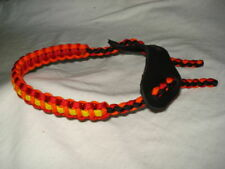 On Target Monster Bow Wrist Sling in Red/Orange/Yellow/Black for compound bows