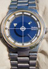 Rarissimo orologio Zodiac ASTRO II automatico anni 70 con speciale quadrante