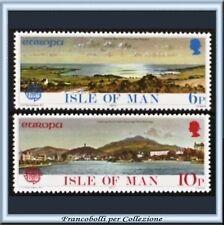 1977 Isle MAN Europa CEPT Vedute Isola Man n. 88/89 **