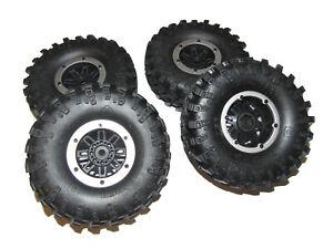 Redcat Everest Gen7 Sport Crawler 12mm Hex Beadlock Wheels Swamper Tires
