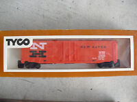 Vintage 1980s HO Scale Tyco New Haven 50' Box Car Boxcar NIB