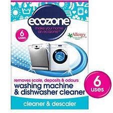 Ecozone Washing Machine and Dishwasher Cleaner X 6 (pack of 2 Total 12 Uses