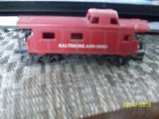 14#K   N25 VINTAGE HO SCALE TRAIN CABOOSE CAR B&O 4068 BALTIMORE AND OHIO