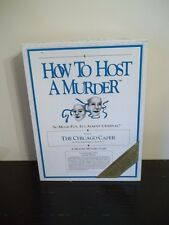 Vintage 1986 How to Host A Murder Dinner Party Game The CHICAGO CAPER cassette