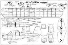 Modelhob AERONCA CHAMPION linea di controllo modello i piani per motore 2.5CC