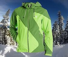 Spyder Mens XL Eiger Waterproof Technical Shell Ski Snowboard Jacket Nwt $500