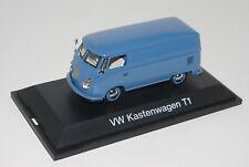 Schuco 1/43 VOLKSWAGEN VW KASTENWAGENT1 splitscreen van BLUE 02571