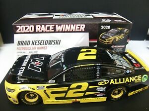 Brad Keselowski 2020 WesternStar Alliance Mustang New Hampshire WIN 1/24 NASCAR