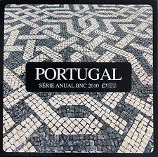 MONNAIE EUROS 1 CENTIME A 2 EUROS PORTUGAL BNC 2010