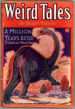 WEIRD TALES Pulp - November 1930, 1st app Bran Mak Morn by Robert E. Howard