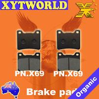 FRONT Brake Pads for Yamaha XV 1100 Virago 1989-1993