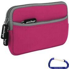 Sleeve Case Cover (Pink) Garmin Nuvi 2555 LMT, 2595 LMT, 3550 LM, 3590LMT