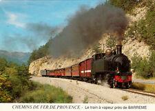 TRAIN VAPEUR PROVENCE BARREME écrite 1989