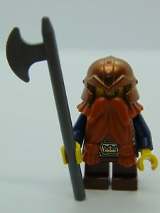 Genuine Lego Castle Fantasy Era Dwarf Mini Figure cas431