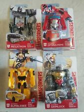 Transformers Optimus Prime Bumblebee Megatron Grimlock, New, Lot of 4