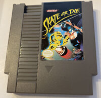 Skate or Die (Nintendo Entertainment System, 1988) NES CLEAN AND TESTED