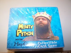 Monty Python and the Holy Grail CCG card game Booster Box 36 booster packs SW