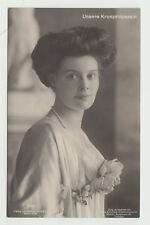 1909 RPPC Crown Princess Cecilie of Prussia