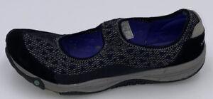 Merrell Women's Slip on Mary Jane Shoes Size 9 black/Gray/Purple