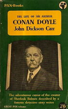 CARR, John Dickson - THE LIFE OF SIR ARTHUR CONAN DOYLE  Pan GP20, 1953
