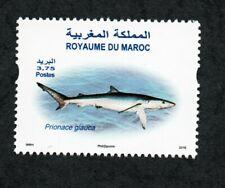 2016- Morocco- Maroc- Marine Life - The Blue Shark- Le requin bleu- Set 1v.MNH**