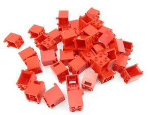 LEGO Red Container Box 2x2x2 Lot of 50 Parts Pieces 4345