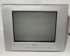 "Advent 14"" Q1435A CRT Flat Screen Retro Gaming TV w/ Component & S-Video Inputs!"