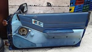 HONDA CRX RIGHT SIDE BARE EMPTY DOOR MODEL 1984 87 CHASSIS EC1 AF AE532 USED