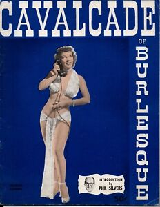 Cavalcade Of Burlesque Magazine May1952 Pinup-Phil Silvers Intro-Strip Club Ads