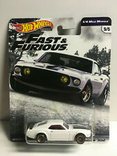 Hot Wheels PREMIUM FAST AND FURIOUS '69 FORD MUSTANG BOSS 5/5 NIP