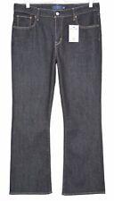Ladies Levis BOOTCUT Demi Curve Mid Rise Dark Blue Indigo Jeans Size 14 W32 L32
