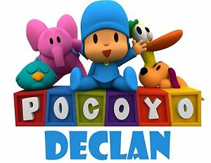 Pocoyo Friends Custom T Shirt Party Favor Birthday Gift Personalized Name
